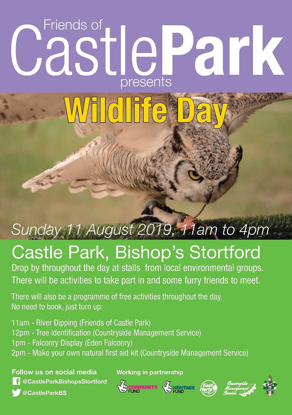 Wildlife Day At Castle Park In Bishops Stortford - 11th August 2019
