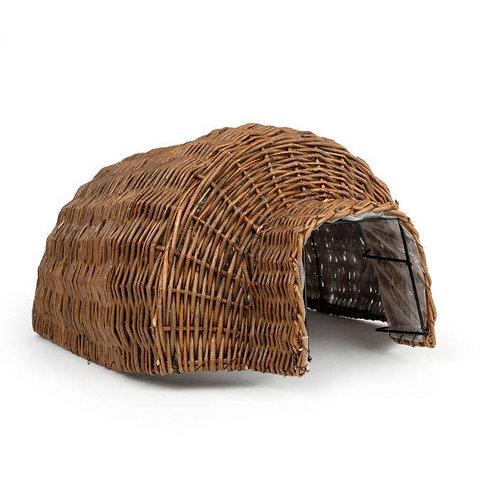 Natural Weaved Deluxe Basket Hedgehog Nesting Home