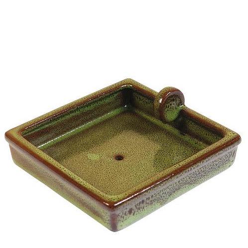 Hedgehog Square Food Bowl - With drainage hole
