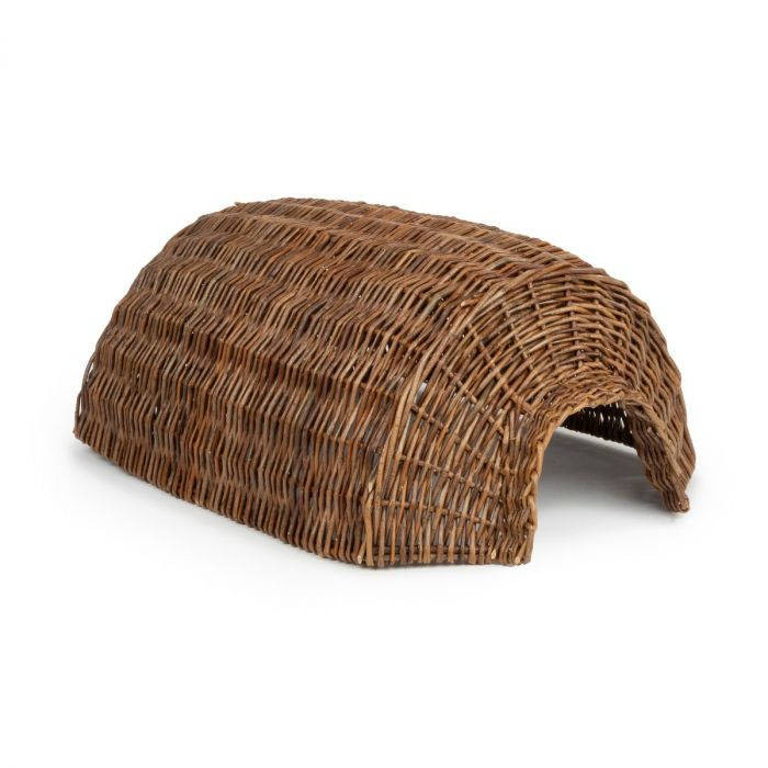 Natural Weaved Basket Hedgehog Bunker Home
