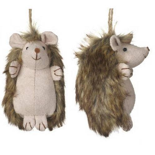 Hedgehog Soft Toy Decoration