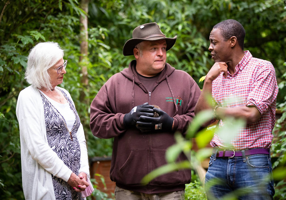 We talk to Bim Afolami MP at Hornbeam Wood Hedgehog Sanctuary about the troubles hedgehogs face