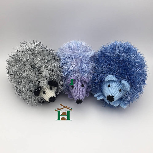Hedgehog Soft Sparkly Toy Decoration (Random Colour)