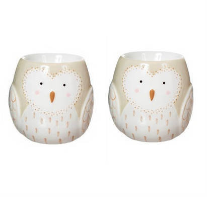 Owl Egg Cups - Set of 2