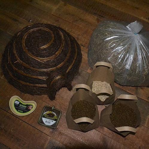 Hedgehog House and Feeding Station Kit