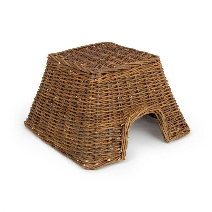 Natural Weaved Square Basket Hedgehog Nesting Home