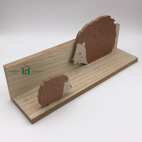 Hedgehog Wooden Shelf