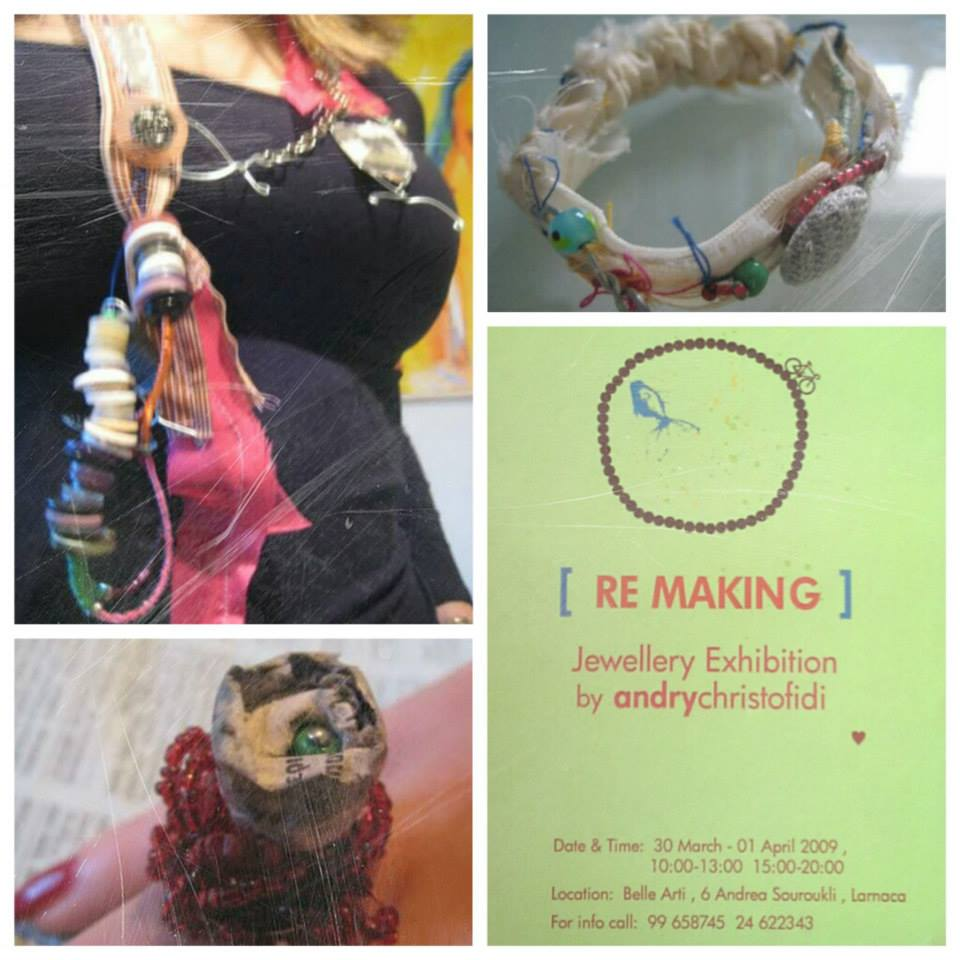 ReMaking jewellery art project