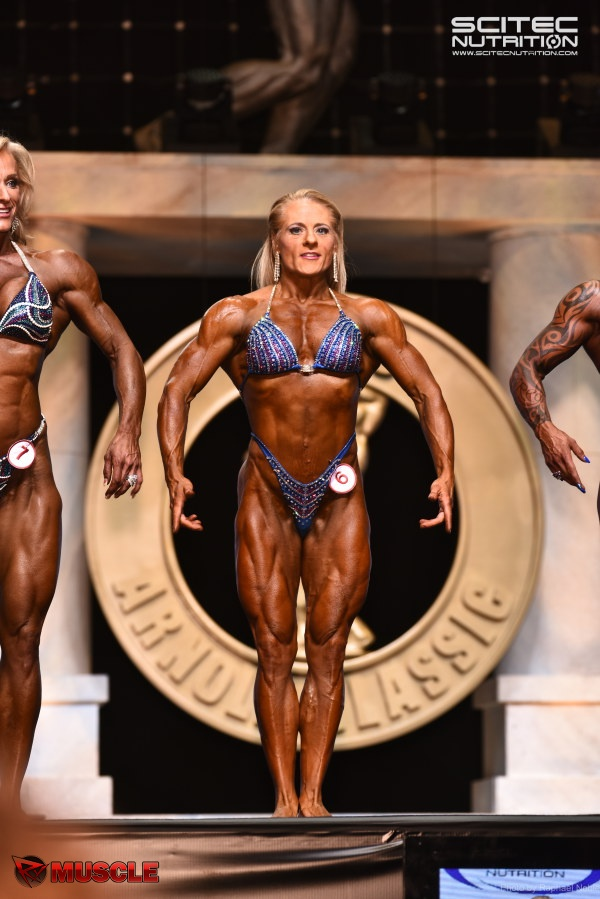 Competing at the Arnold Classic