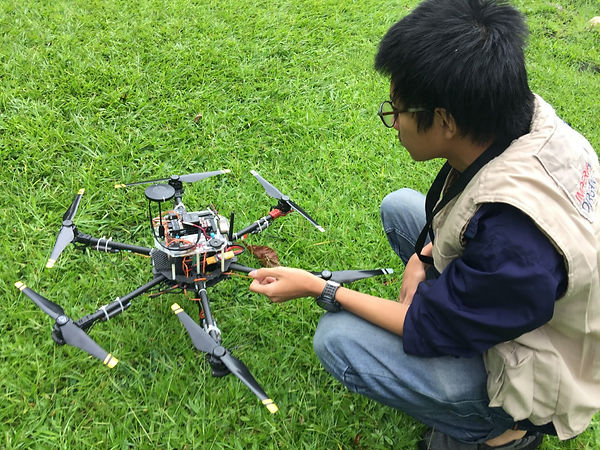 surveying mapping and analysis with drones in indonesia