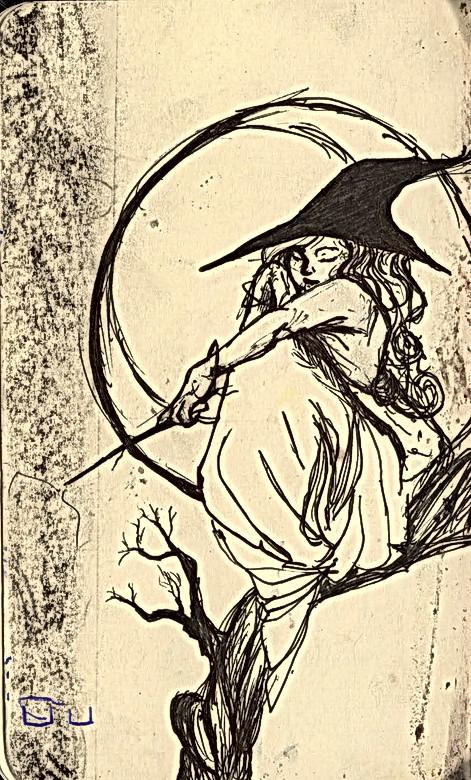 sketchbook- witchy