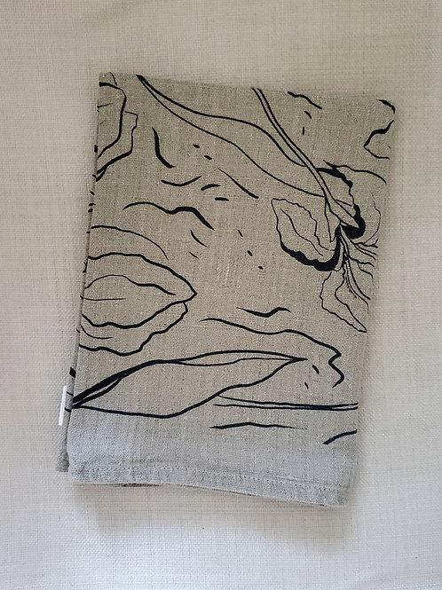 Iris Linen Tea Towel