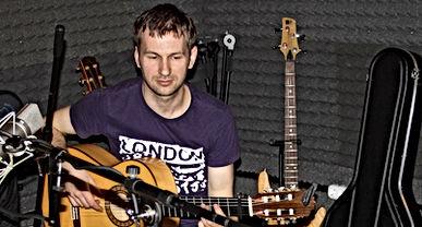 Запись акустической гитары на студии