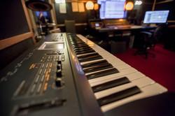 Recording studio. Korg Triton.