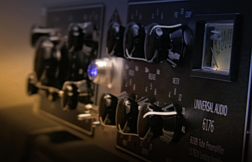 Universal Audio 6176 channel strip Hero Tube preamp