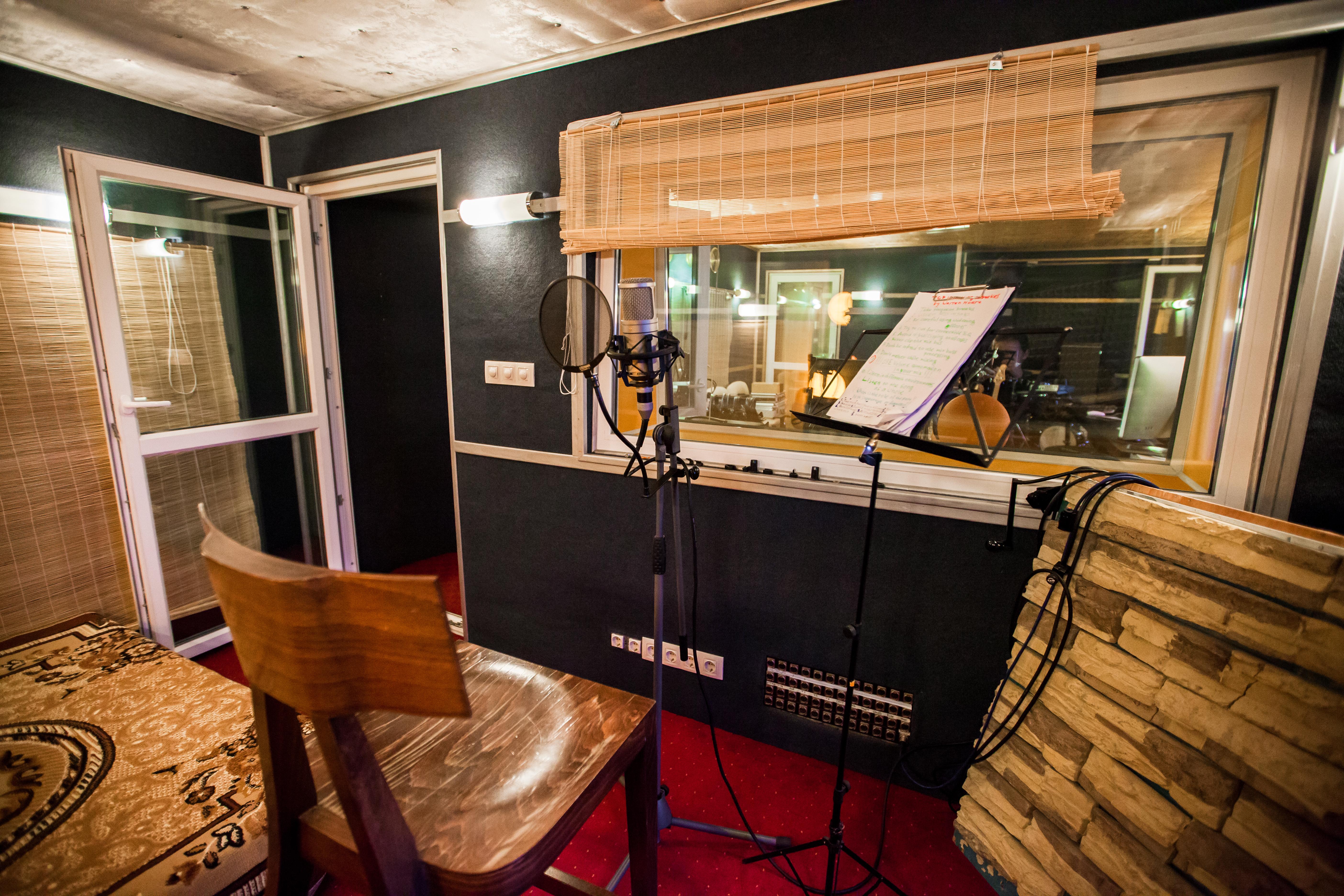Студия звукозаписи. Запись вокала