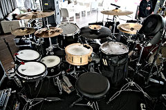 ударная установка, электро барабаны
