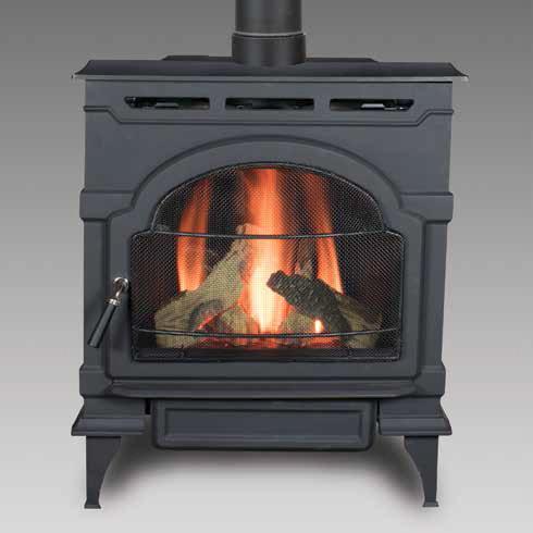Majestic Oxford Gas Fireplace