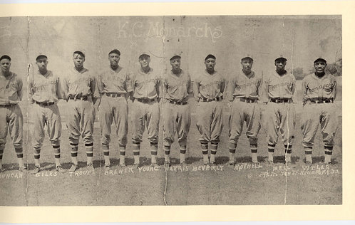1932 Kansas City Monarchs, Panoramic