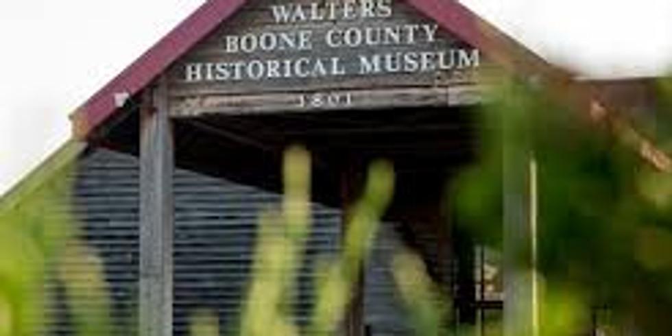 Postponed -  Columbia, Missouri  Boone County History & Culture Center