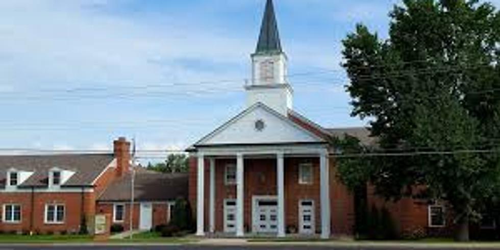 Postponed - Prarie Villiage, Kansas  Asbury United Methodist Church