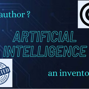 Legal Implications of Having Non-Human Authors and Inventors of Intellectual Property