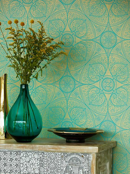 Moroccan Style Wallpaper - CLICK HERE FOR MORE SAMPLES