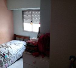 habitación contra frente