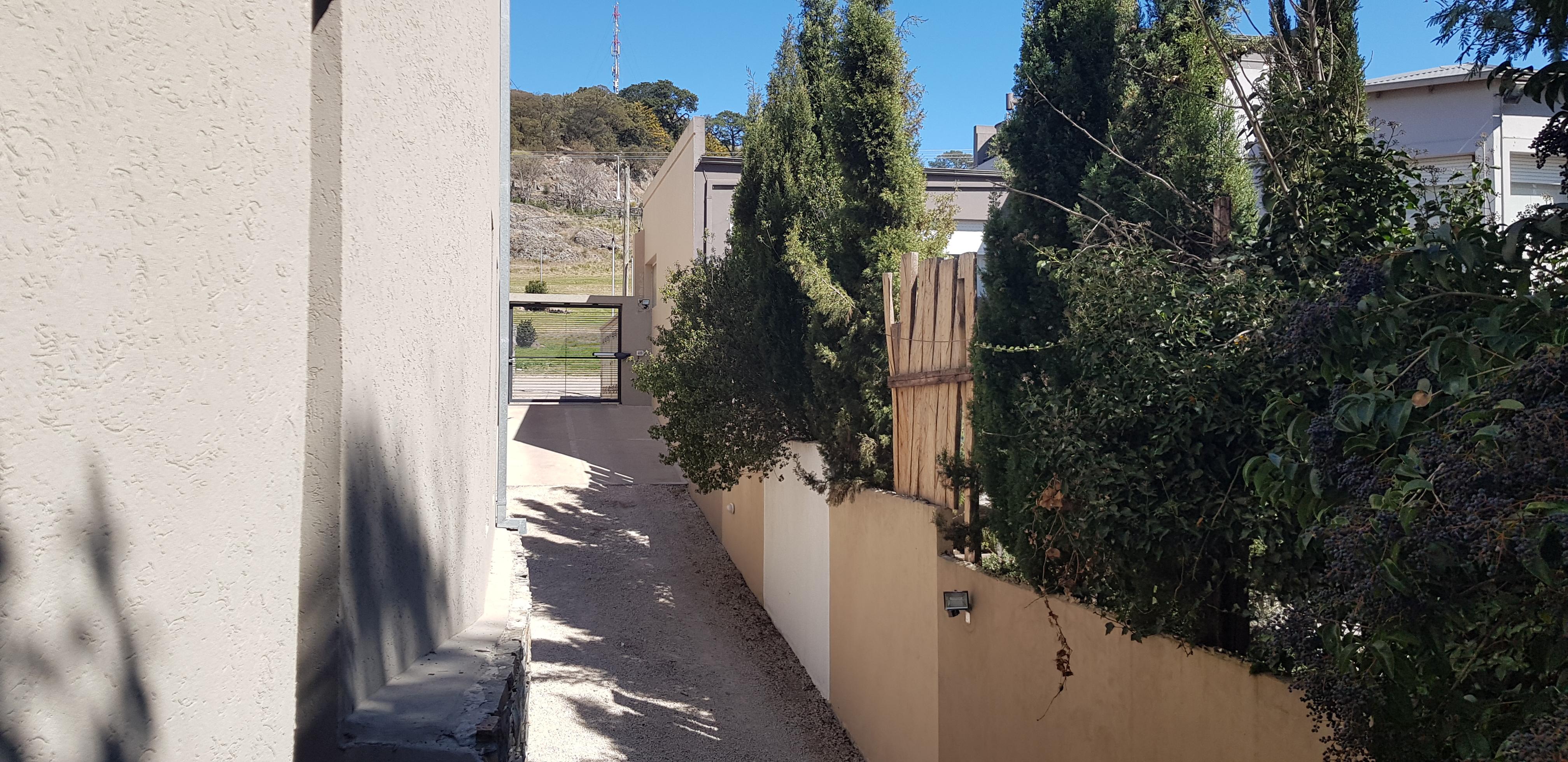 vista desde el balcón al parque