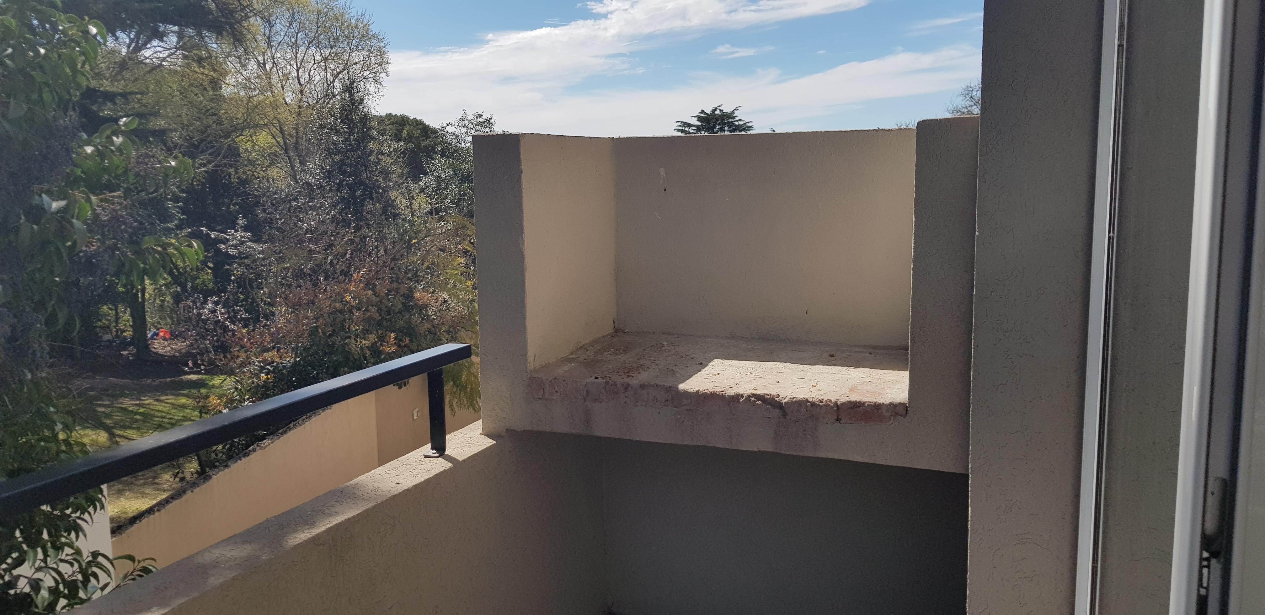 balcón parrilla
