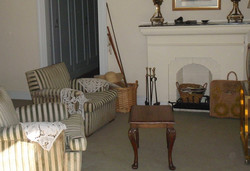 sala de estar en planta alta