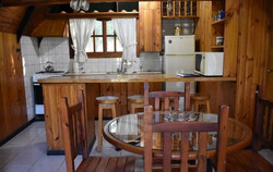cocina comedor alpina