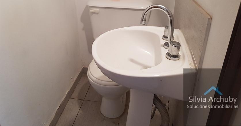 toilette planta baja