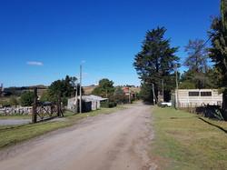 calle Churrinche vista hacia Juan B Justo