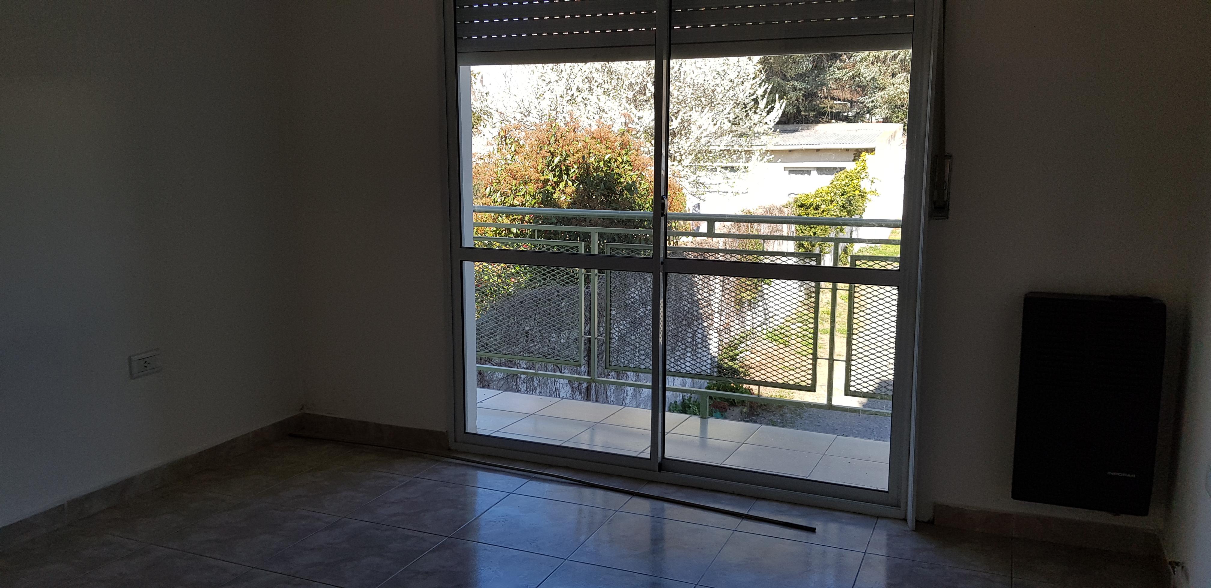 balcón en la habitación
