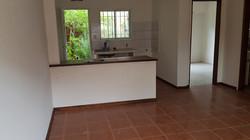 cocina separada con barra
