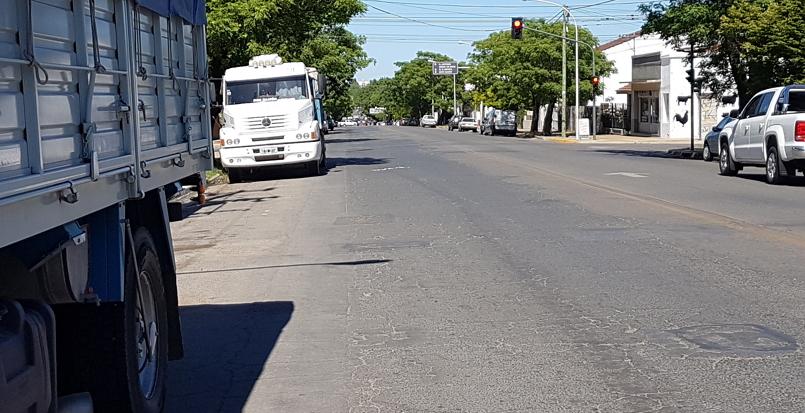vista hacia calle 11 de Septiembre-Santos Vega