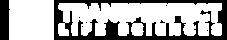 White logo of Transperfect, a translation company