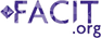 Logo of Facit.org, an organization developing questionnaires that measure health-related quality of life for people with chronic diseases.
