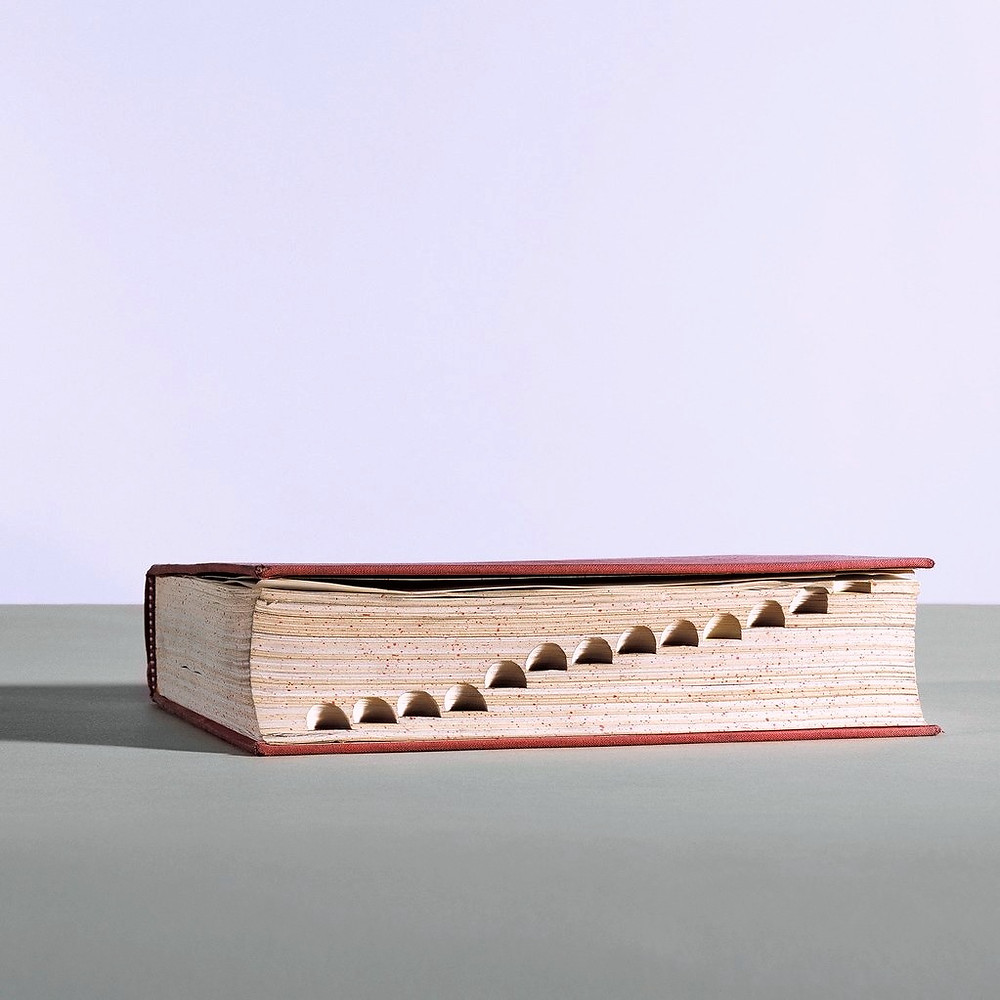 Illustration of a dictionary