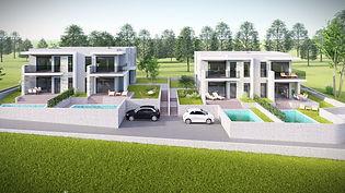 Hiša dvojček - enota, Hrvaška - Istra (Babići), 350.000 EUR