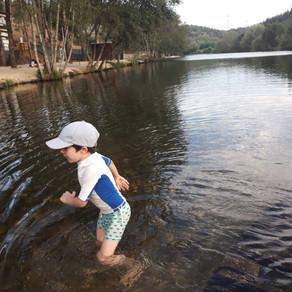 Praia Fluvial com crianças: um lindo passeio de verão em Portugal!