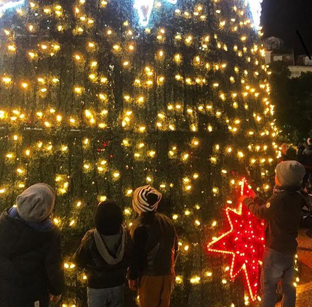 Natal em Lisboa - Portugal com Miúdos
