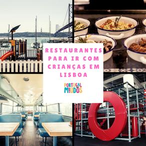 Lisboa com crianças: 5 sugestões de restaurantes
