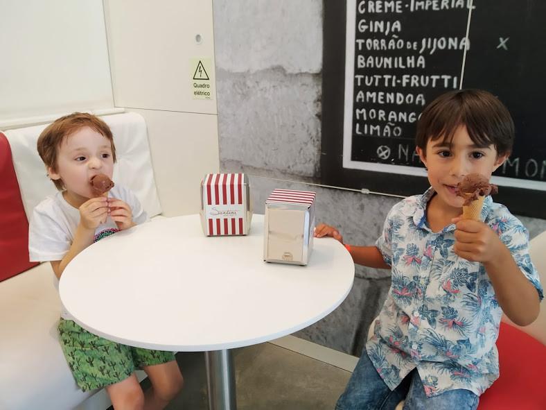 Gelados Santini - Portugal com Miúdos