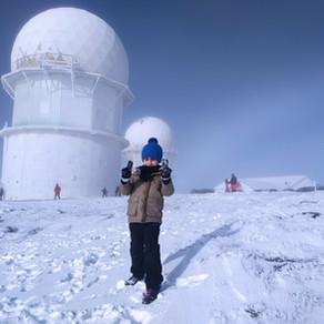 Serra da Estrela com crianças - parte 2: brincar na neve