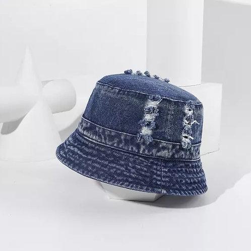 Dark Denim Bucket Hat