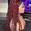 Thumbnail: Red Curly Headband Wig