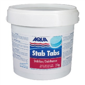 STABILIZER TABS by Aqua 2 Kg  (UV Stabilizer Pucks)