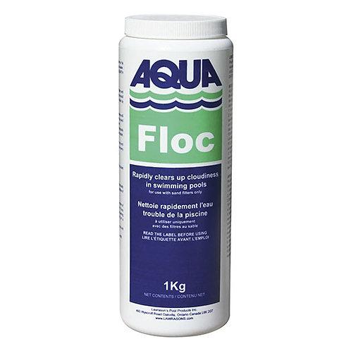 Aqua Floc  1kg.   Cloudy Water Treatment